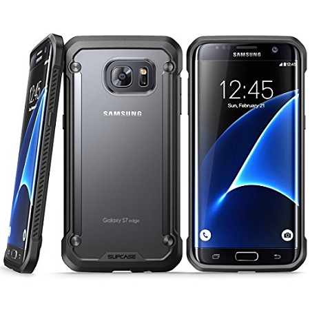 wholesale dealer 2f273 69c2a New SUPCASE For Samsung Galaxy S7 Edge Unicorn Beetle Hybrid Protective  Case Black