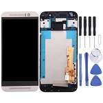 New LCD Screen and Digitizer Full Assembly with Frame for HTC One M9 (Silver)