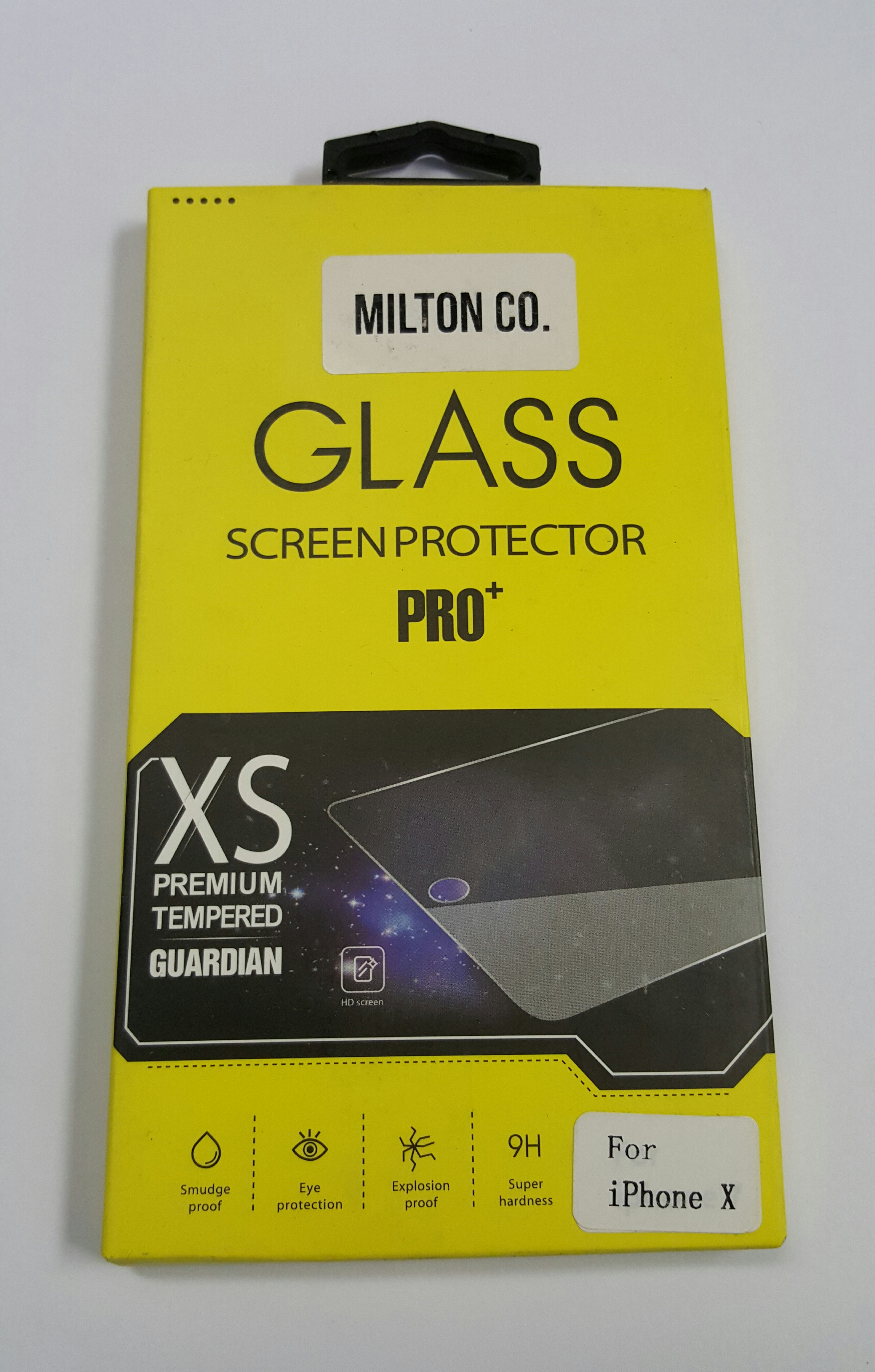 3Pk 9H Surface Hardness Explosion-proof Tempered Glass Screen Protector Film for Apple IPhone X XS