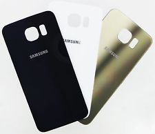 New Samsung Galaxy S6 Back Glass Battery Door Cover - Phone Repair Service Option # 1