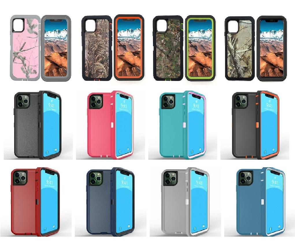 New Heavy Duty Defender Case for iPhone 12 Pro Max