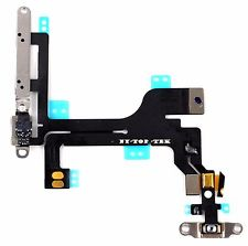 New OEM Apple IPhone 5c ( All Models ) Power Mute Volume Button Switch Flex Ribbon Cable Replacement - Phone Repair Service Option # 2