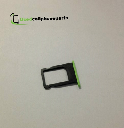 Apple IPhone 5c Sim Card Slot Tray - Green