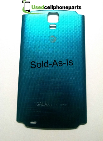 At&t Samsung Galaxy S4 Active Battery Back Cover Door - Poor Condition