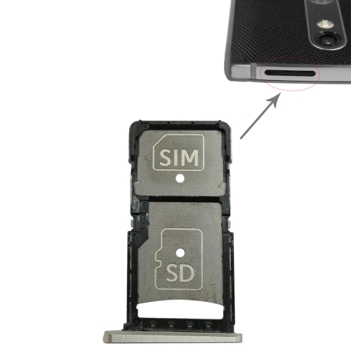 Original Droid Turbo 2 Sim & SD Card Slot Tray Holder