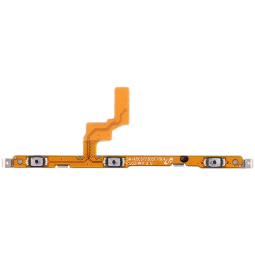 Power Button & Volume Button Flex Cable for Galaxy A20