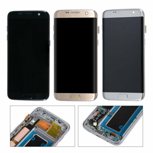 New For Samsung Galaxy S7 edge G935V G935P G935A G935T G935F Display LCD Digitizer + Frame -  4 Colors