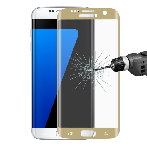 9H Surface Hardness 3D 0.26mm Explosion-proof Full Screen Tempered Glass Screen for Galaxy S7 Edge