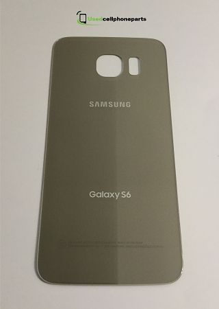 Original Samsung Galaxy S6 Battery Back Cover Door Gold