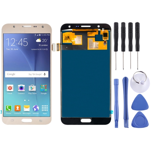New LCD Screen Touch Digitizer Display Panel for Galaxy J7 J700 J700F J700F DS J700H DS J700M J700M DS J700T J700P (Gold)
