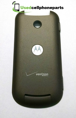 Verizon Motorola Krave ZN4 Battery Cover Door  Grey
