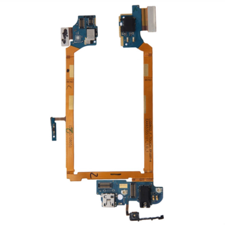 New USB Charging Port Flex Cable for LG G2 - (LS980)