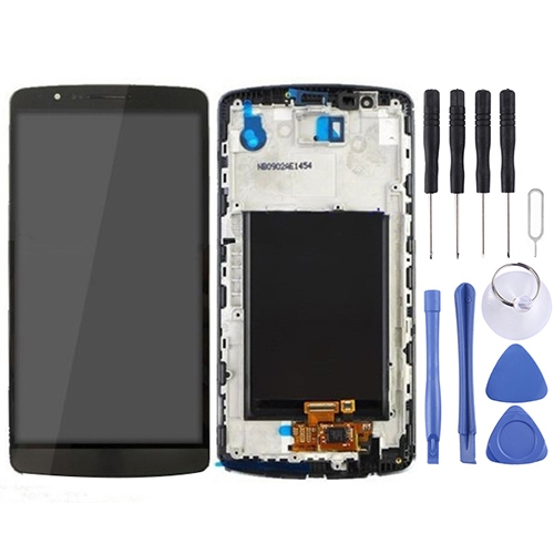 LCD Display + Touch Panel with Frame for LG G3 / D850 / D851 / D855 / VS985 (Black)