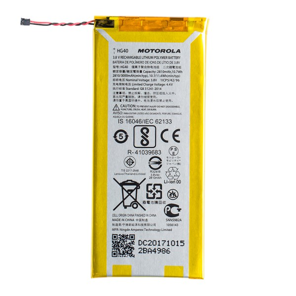 Genuine OEM Motorola HG40 Lithium Battery For Motorola Moto E5 Plus