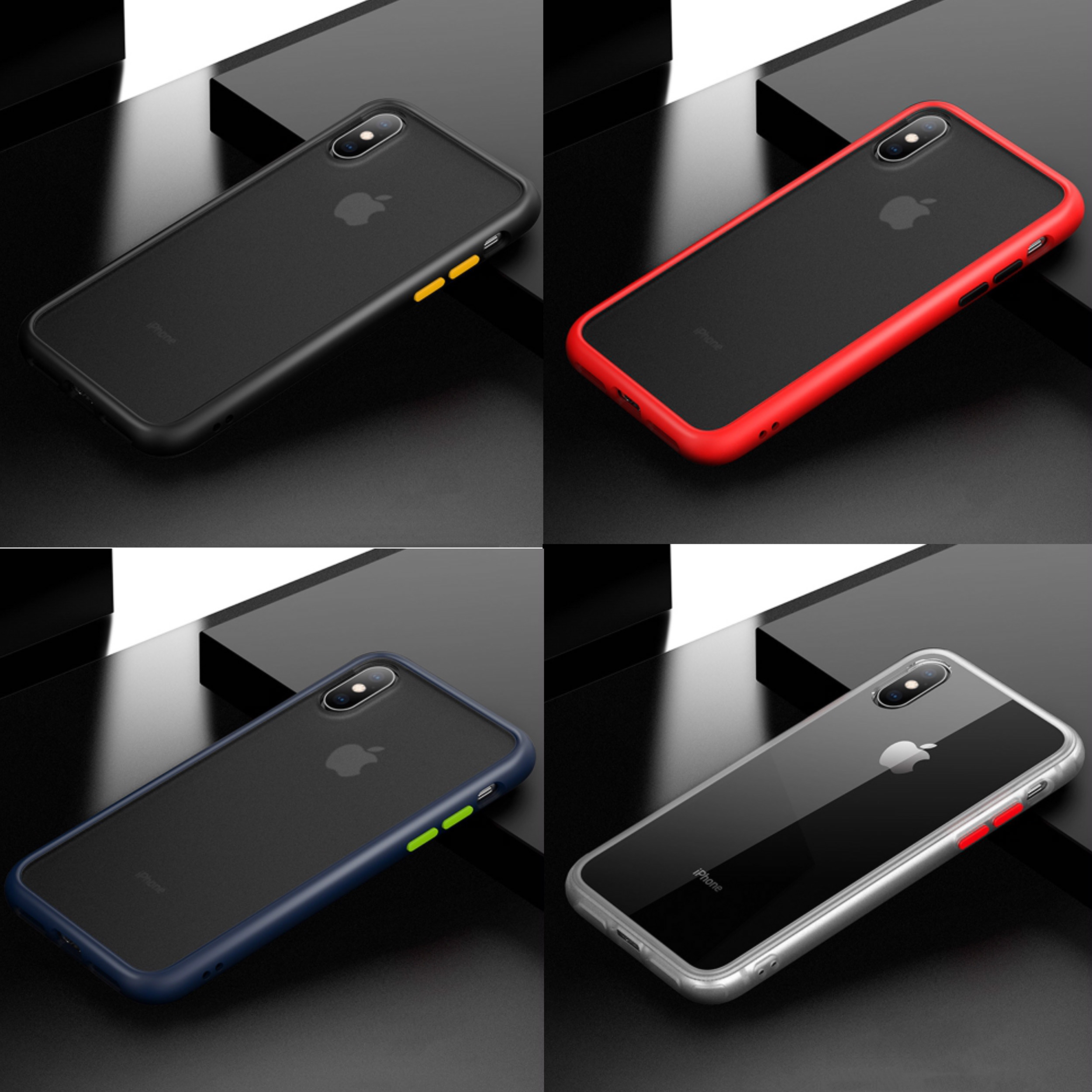 New Shockproof PC + TPU Case for Apple iPhone XS Max