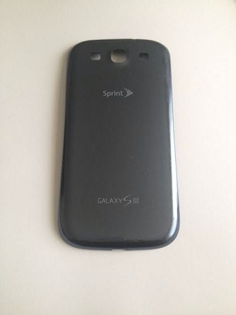 Sprint Samsung Galaxy SIII S3 SPH-L710 Back Battery Cover Door