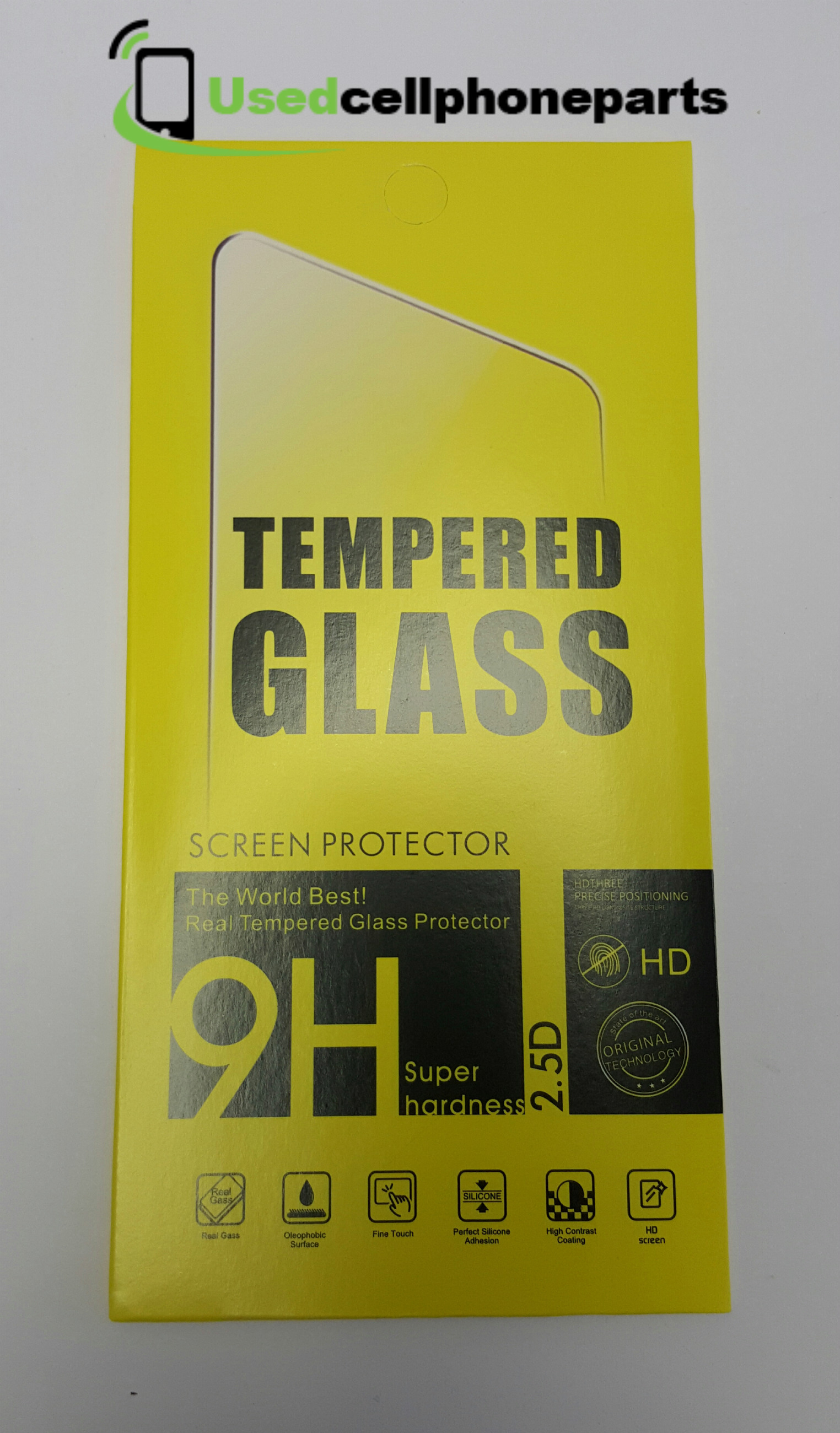 3Pk New 0.26mm 9H Surface Hardness Explosion-proof Non-full Screen Tempered Glass Screen Film For LG G6
