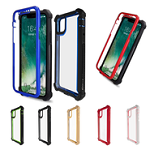 3 in1 Hybrid Clear Soft TPU Hard PC Back Cover Case for iPhone 12 & 12 Pro Max