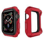 Smart Watch Shockproof Two Color Protective Case for Apple Watch Series 3 42mm (Red Black)