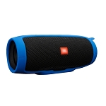 Shockproof Waterproof Soft Silicone Cover Protective Sleeve Bag for JBL Charge 3 Bluetooth Speaker (Blue)