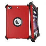 Heavy Duty Defender Case with Clips For iPad 7 2019 & iPad 8 2020