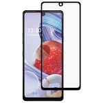 3x For LG Q Stylo 6 Full Glue Full Screen Tempered Glass Film