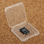 New Transparent Plastic Storage Card Box for Micro SD Card