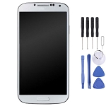 New LCD Screen and Digitizer Full Assembly with Frame for Galaxy S4 / i337 / m919 - (White)