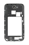 Middle Frame Bezel for Galaxy Note 2 II / N7100 (Black)