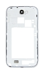 Middle Frame Bezel for Galaxy Note 2 II / N7100 (White)