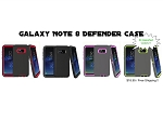 Heavy Duty Defender Case Cover for Samsung Galaxy Note 8