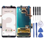 LCD Screen and Digitizer Full Assembly for Google Pixel 3 (Black)