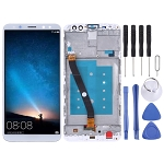 LCD Screen and Digitizer Full Assembly with Frame for Huawei Mate 10 Lite (White)