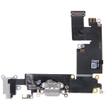 New USB Charging Port Flex Cable for iPhone 6 Plus (Grey)