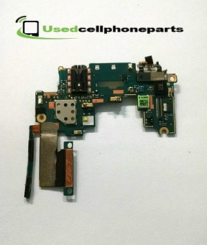 At&t Original OEM HTC One M7 Daughter Board Audio Jack + Volume Button & Mic
